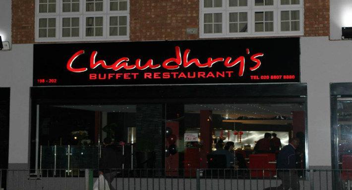 Chaudhry 39 S Buffet Restaurant In London Edmonton